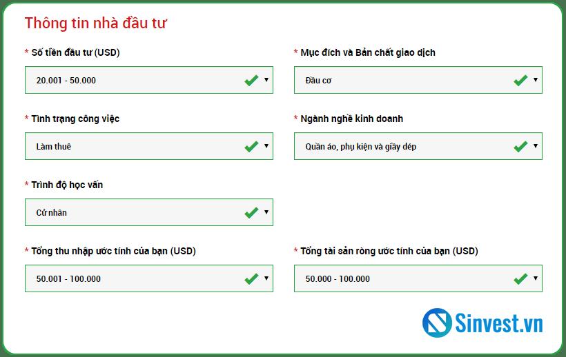 hướng dẫn mở tài khoản sàn XM