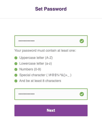 đặt mật khẩu đăng nhập mtrading