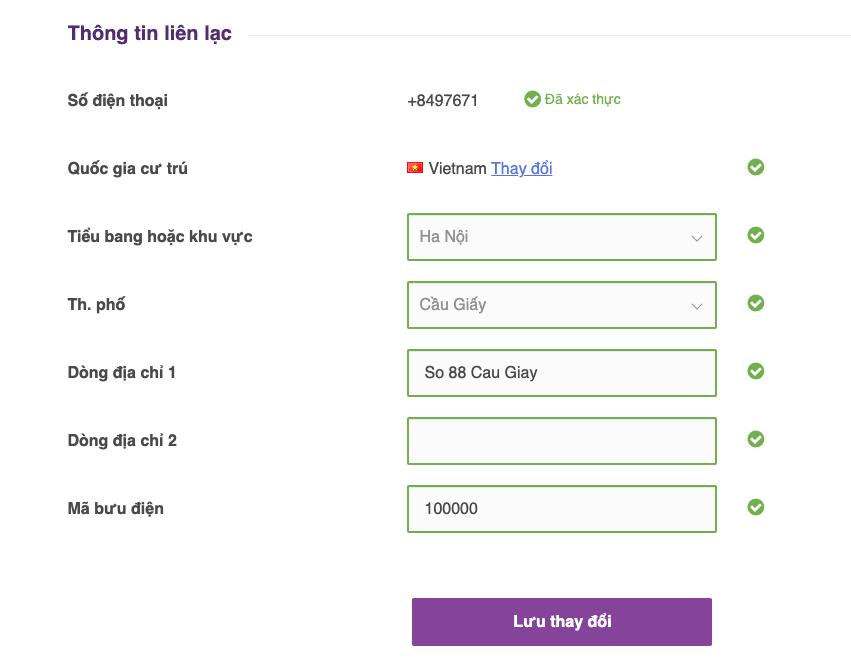 xác minh tài khoản mtrading nhận bonus 30$