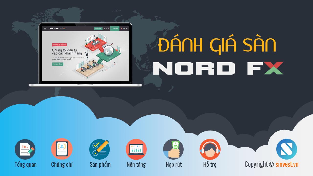 NordFX Review - Đánh giá sàn NordFX