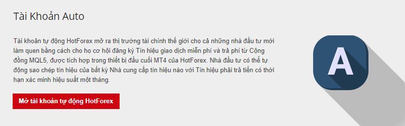 Hot forex review tài khoản auto