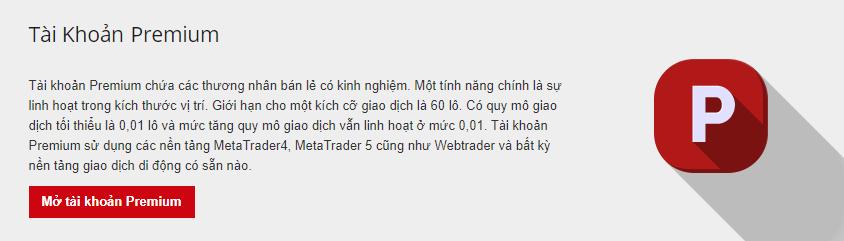 Hotforex review tài khoản premium