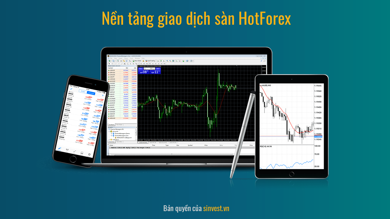 Nền tảng giao dịch Hot forex